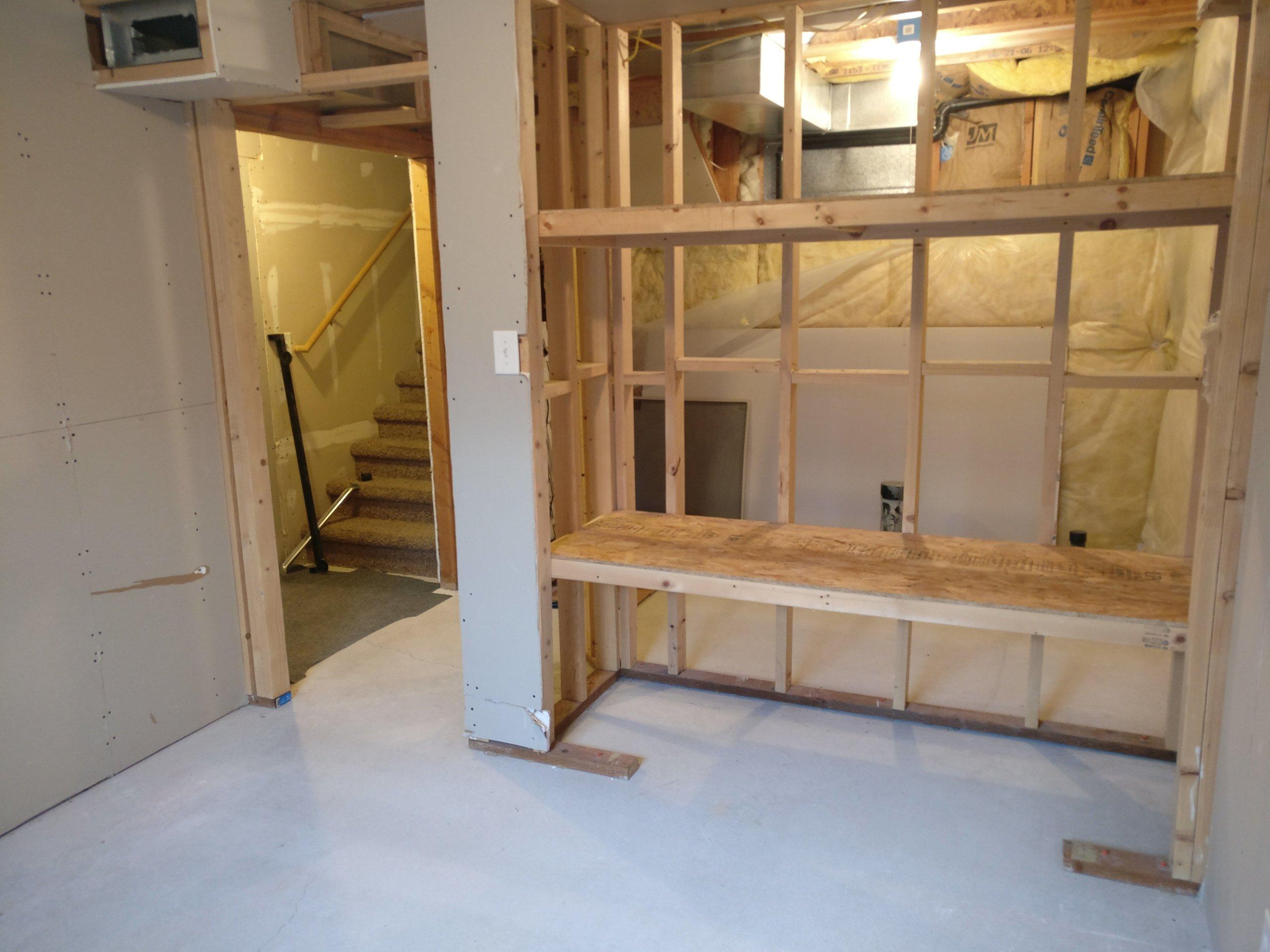 9x9 Basement self storage unit