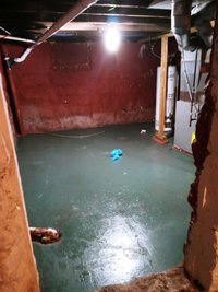 33x24 Basement self storage unit
