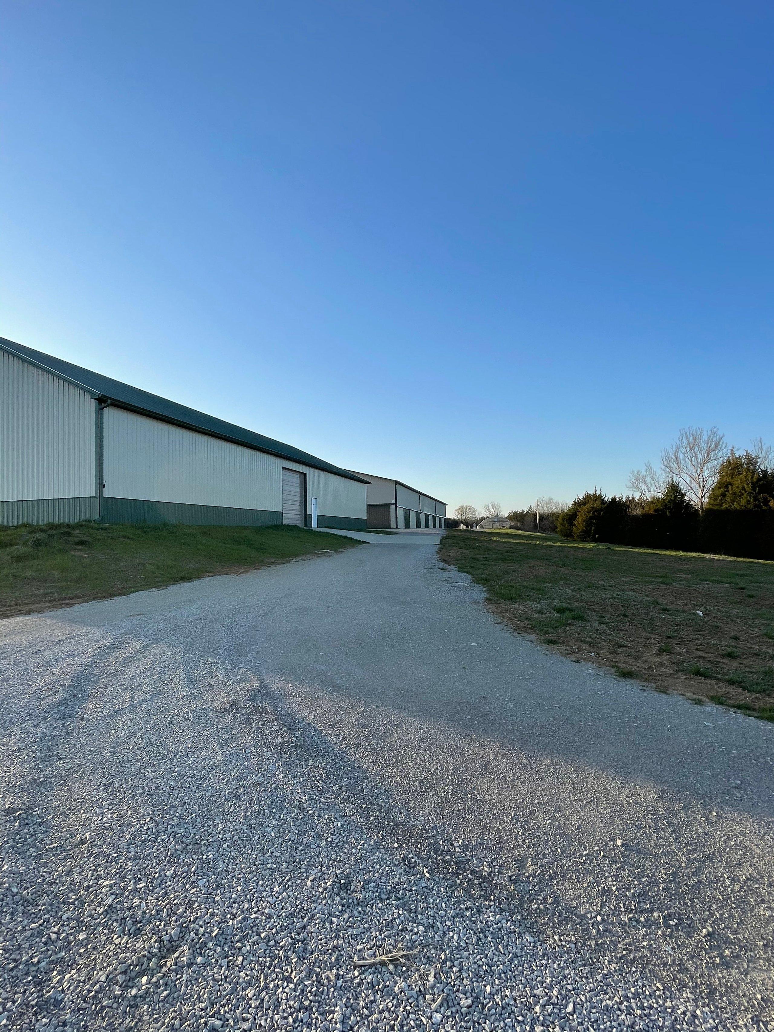 30x15 Warehouse self storage unit