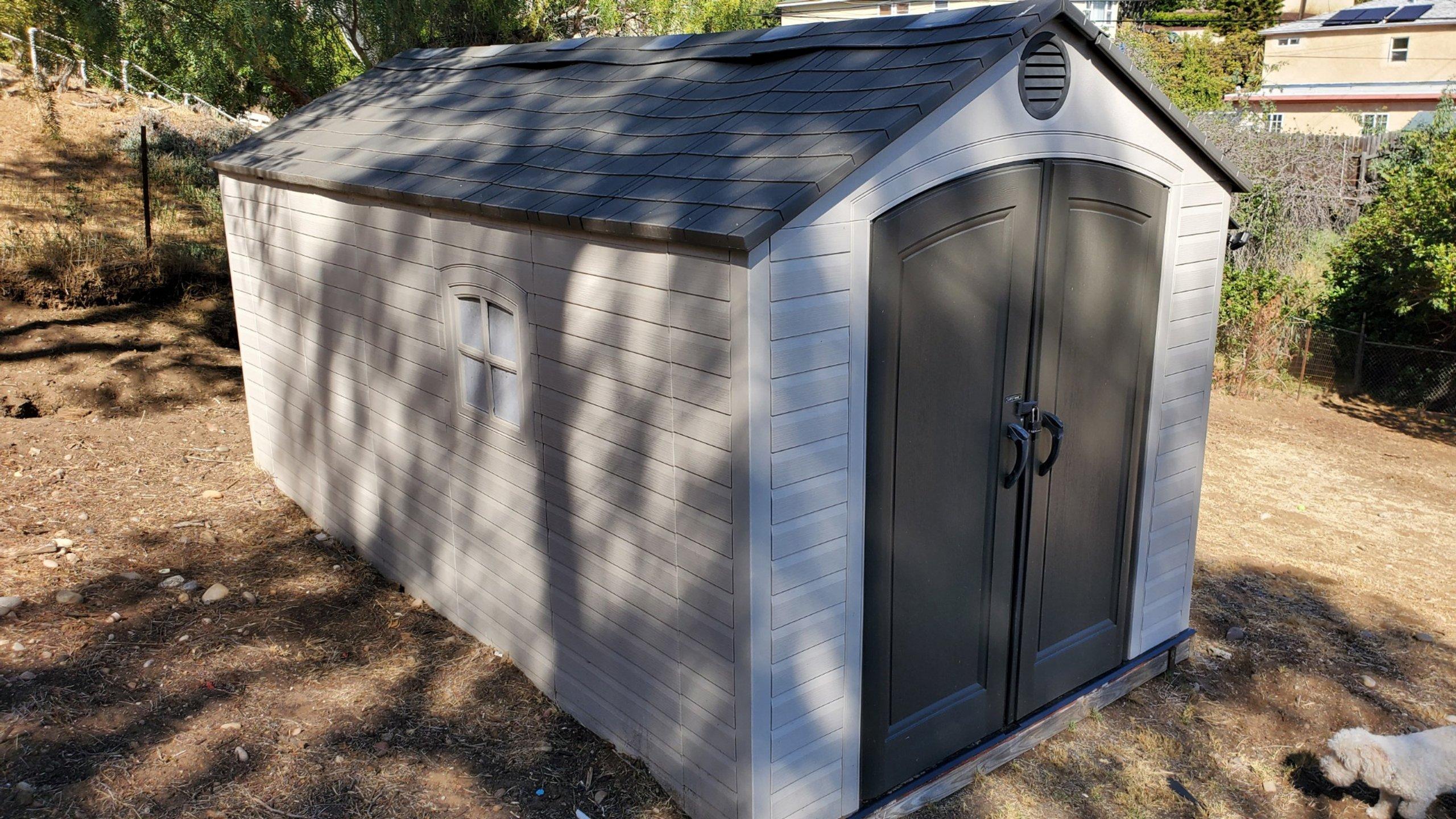12x6 Shed self storage unit