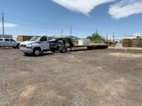 40x40 Parking Lot self storage unit