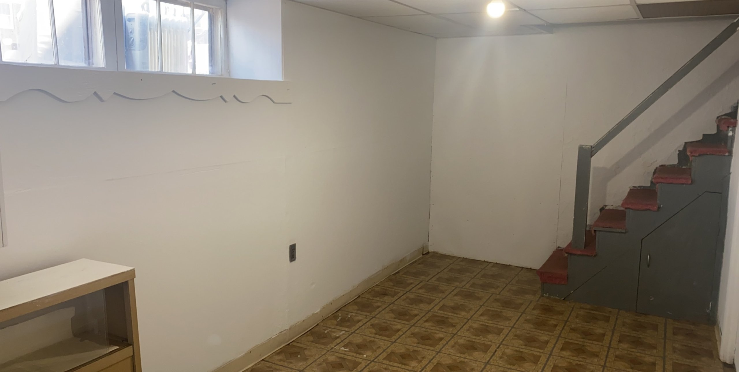 18x14 Basement self storage unit