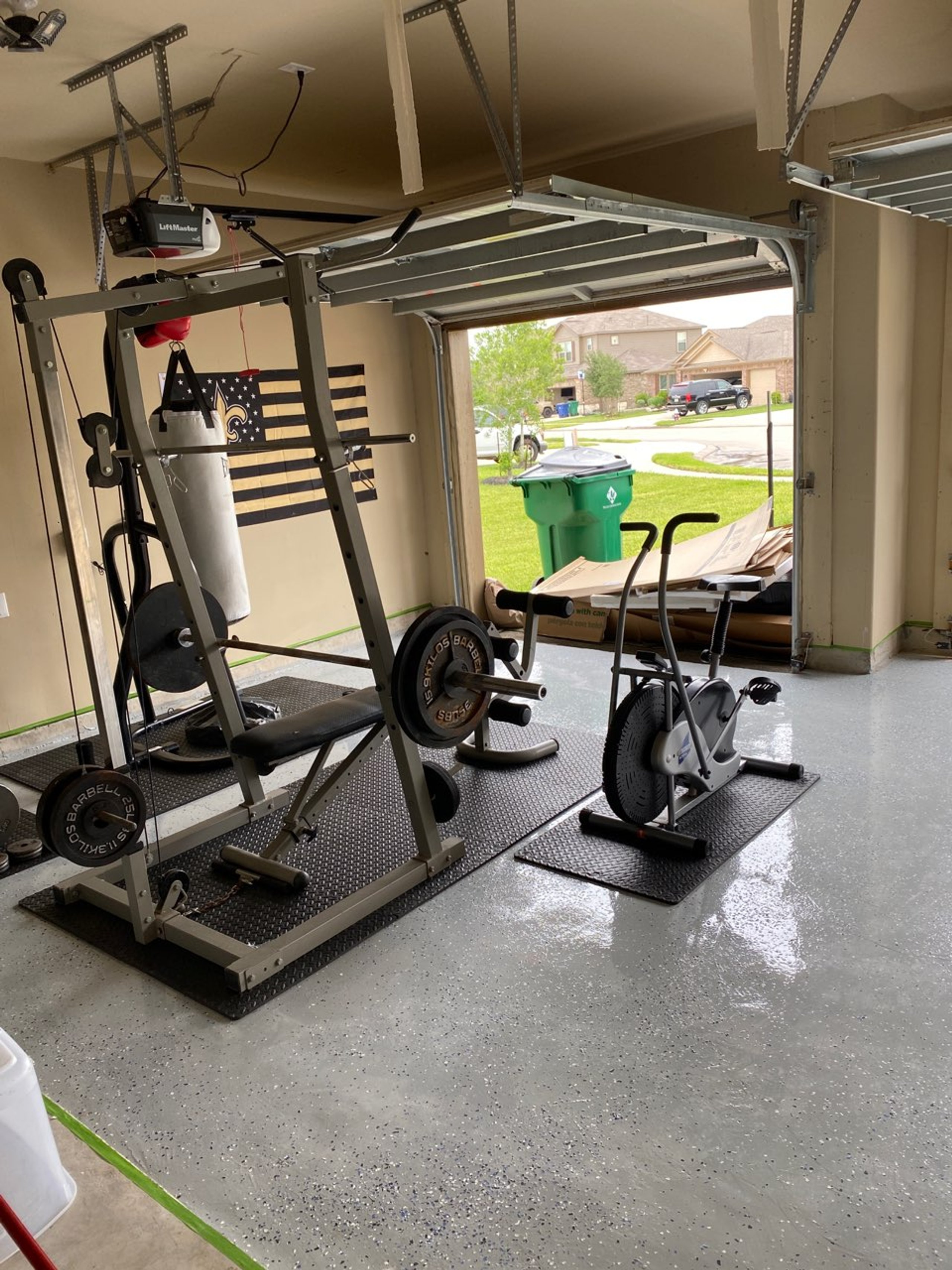 40x40 Garage self storage unit