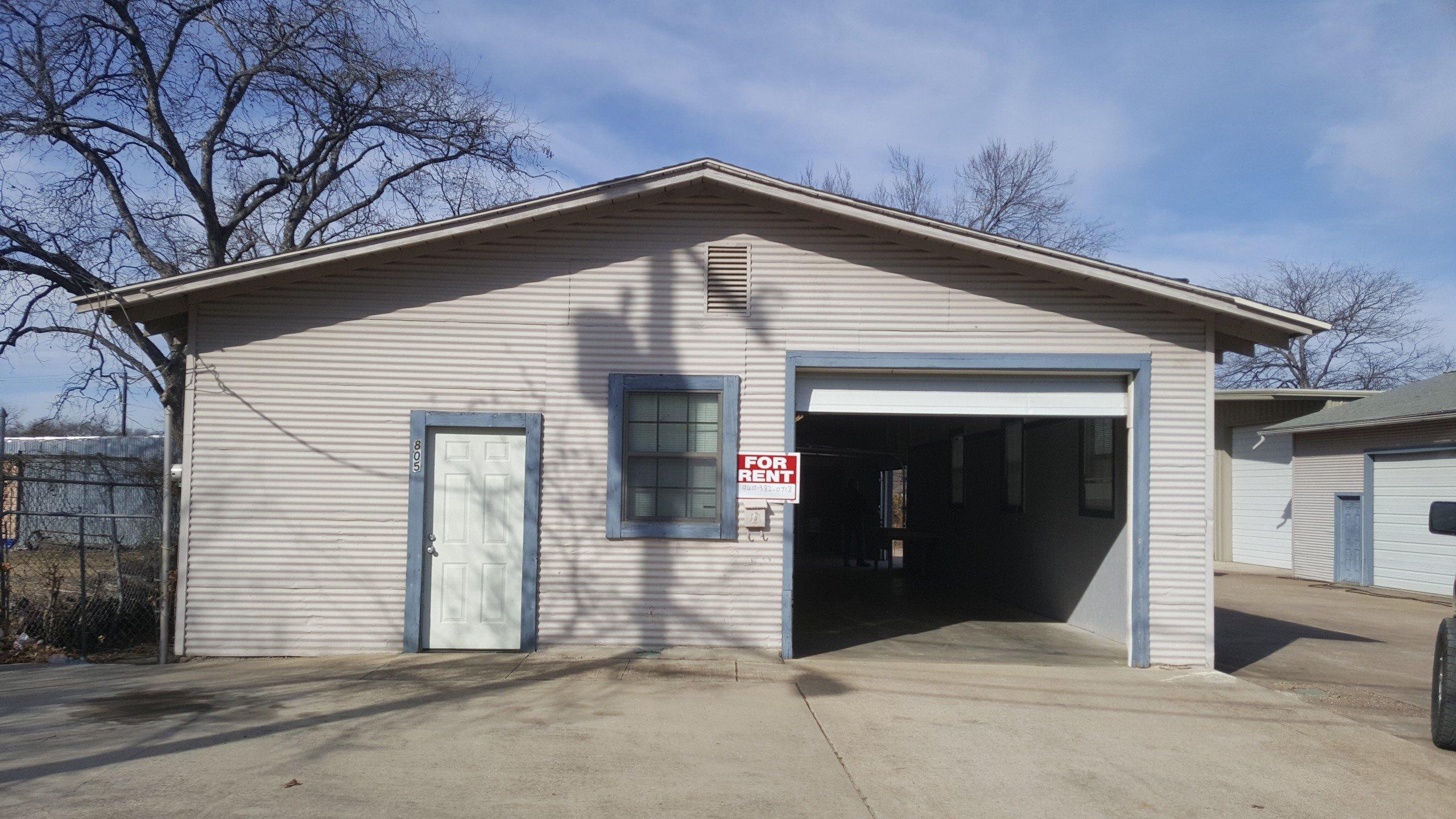 24x12 Warehouse self storage unit