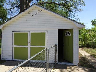 24x16 Garage self storage unit