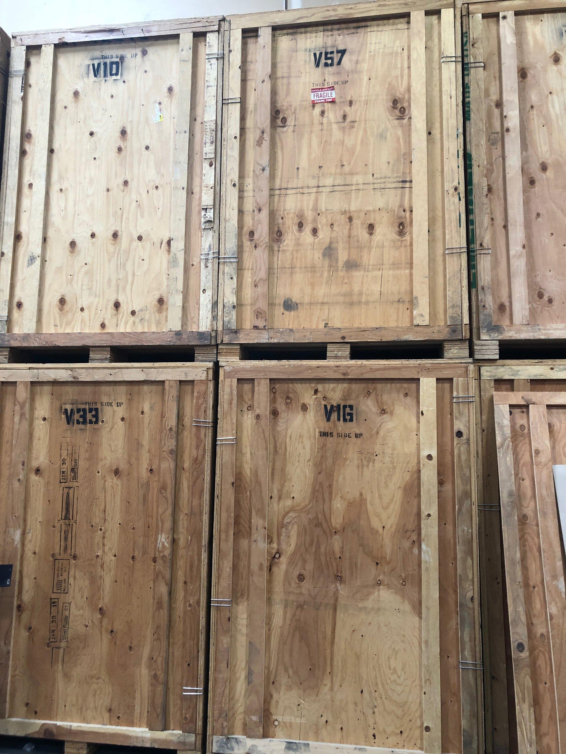 5x7 Warehouse self storage unit