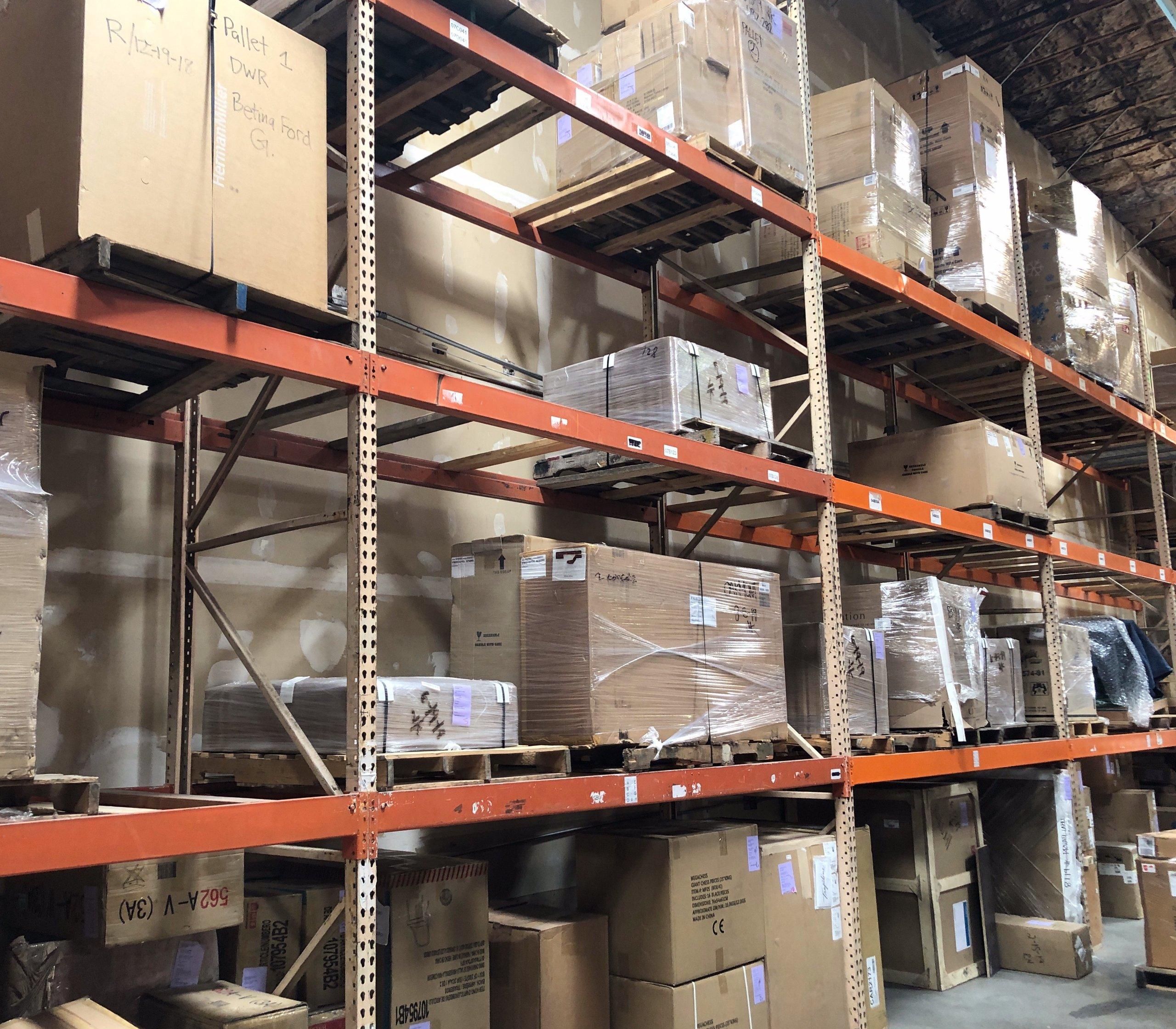 4x5 Warehouse self storage unit