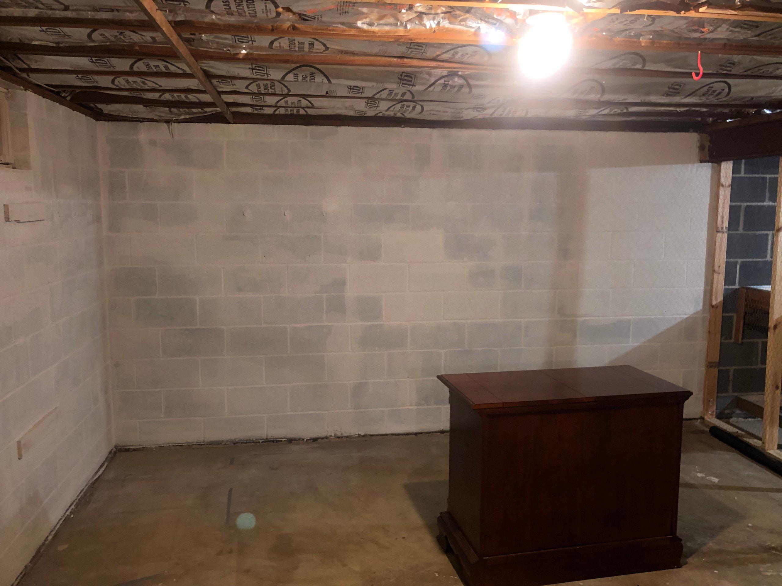 12x13 Basement self storage unit