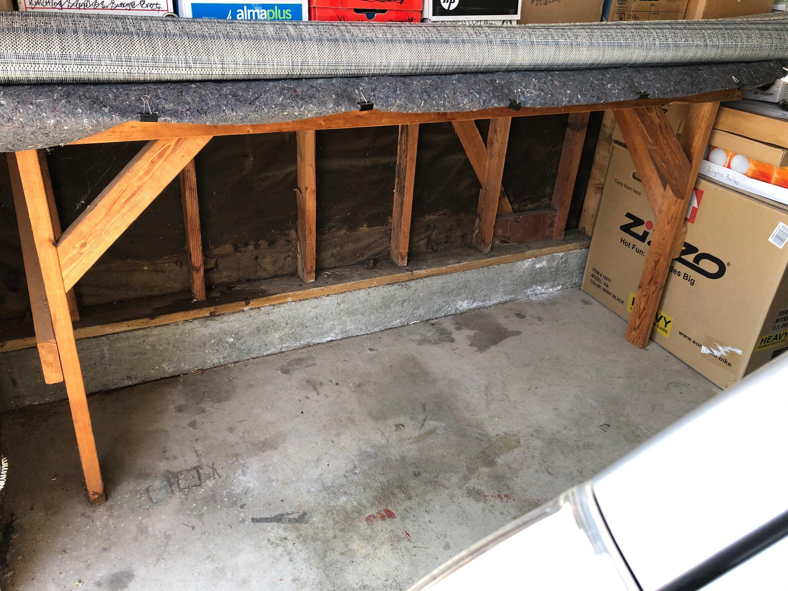 4x6 Garage self storage unit