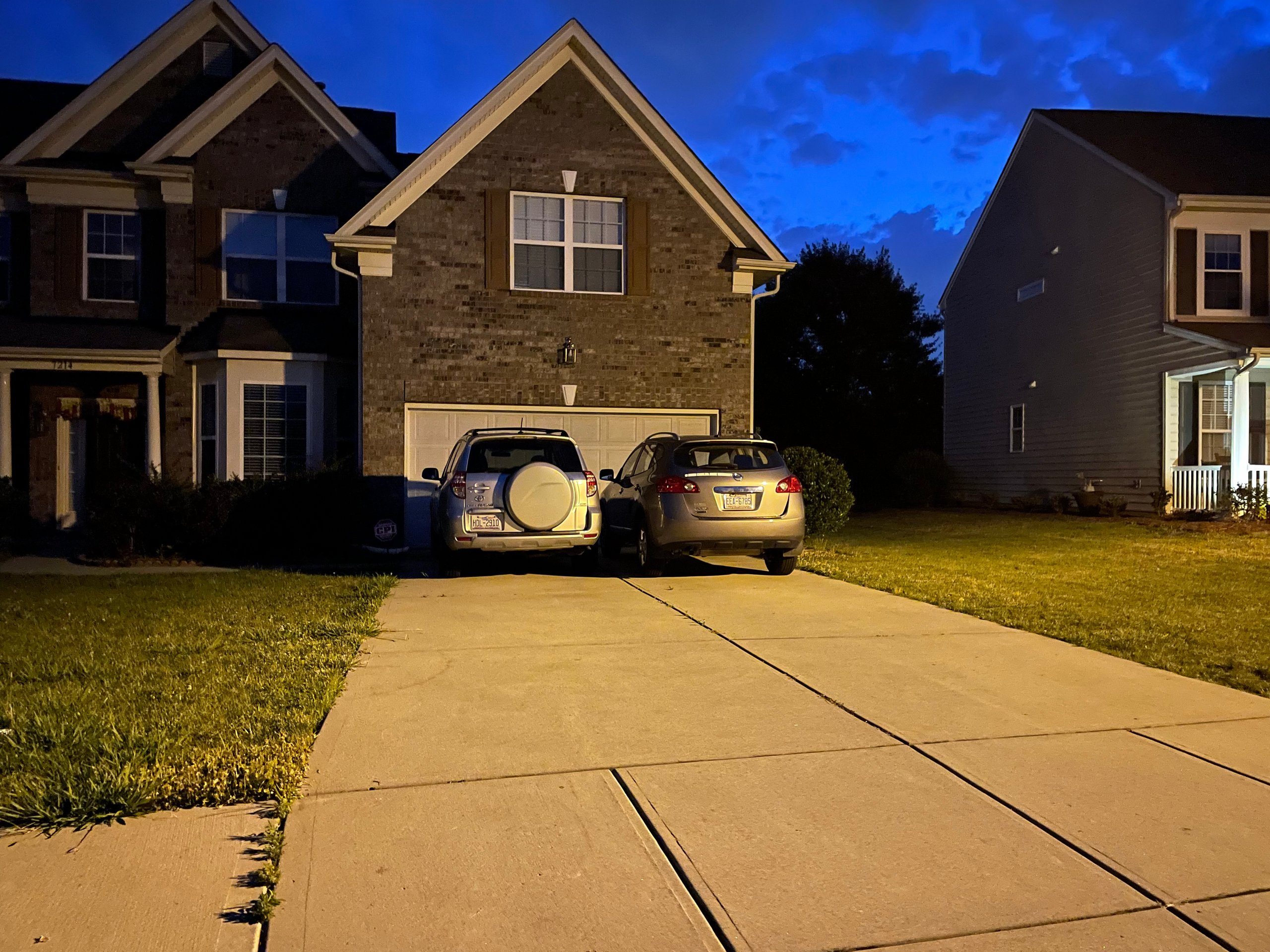 20x16 Parking Lot self storage unit